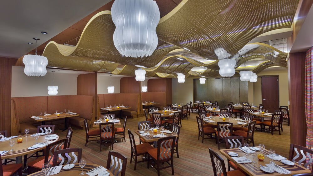 Bay Lake Tower at Disney's Contemporary Resort: restaurante The Wave... of American Flavors