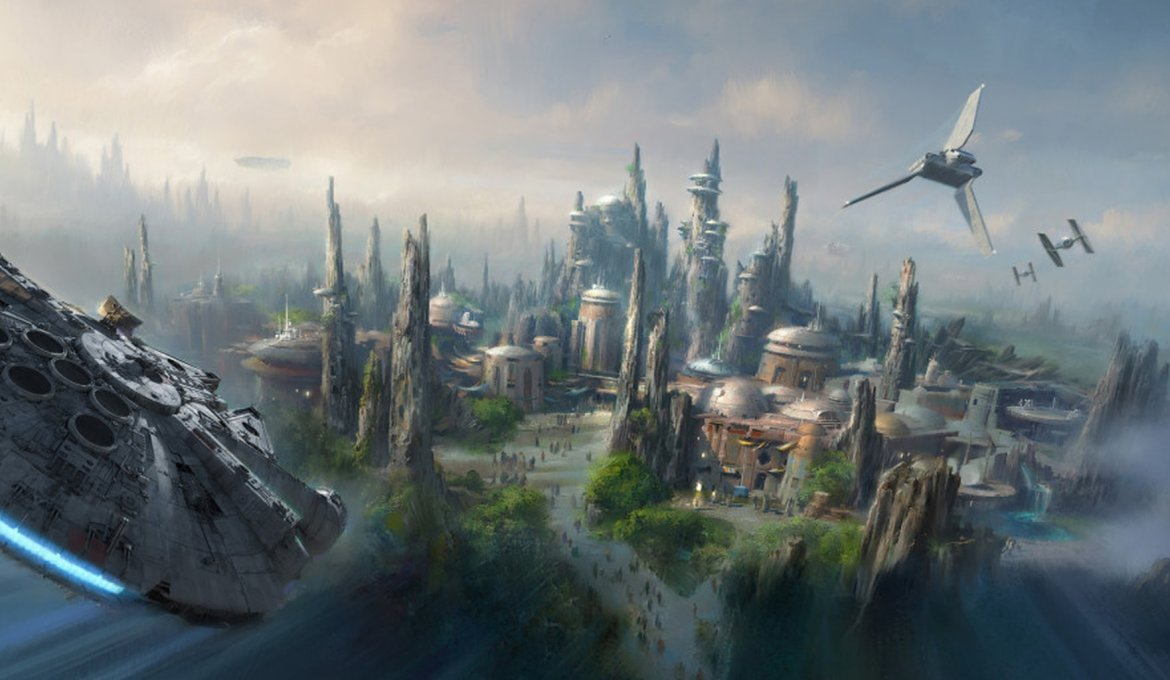 Star Wars: Galaxy's Edge no Disney's Hollywood Studios em Orlando