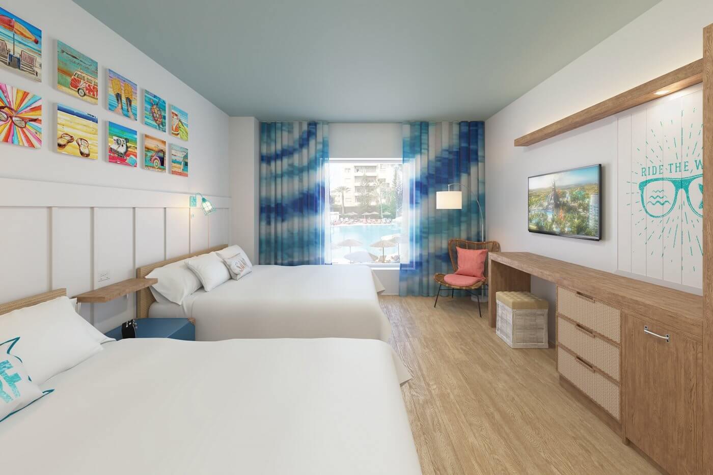 Universal's Endless Summer Resort em Orlando: quarto