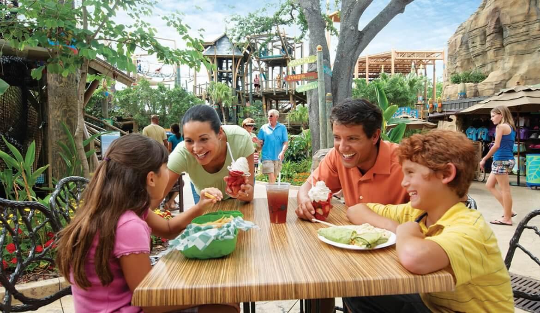 Plano de refeições All Day Dining Deal do SeaWorld e Busch Gardens