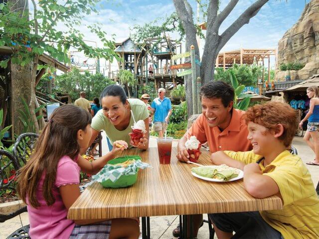 Plano de refeições All Day Dining Deal do SeaWorld e Busch Gardens