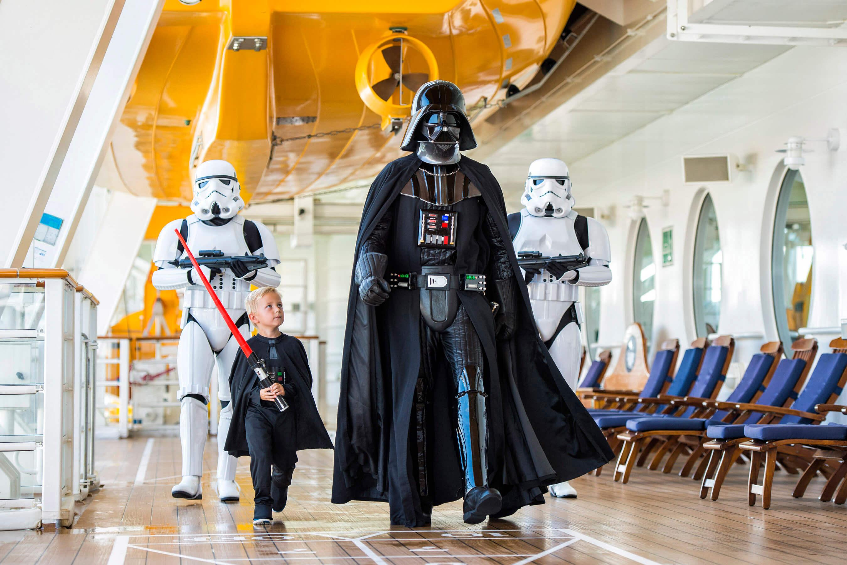 Cruzeiros temáticos da Disney Cruise Line em 2020: criança