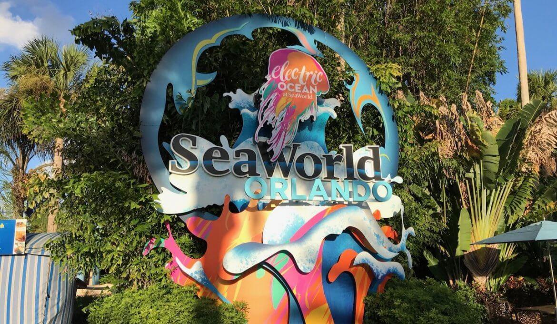 Electric Ocean no SeaWorld Orlando em 2020