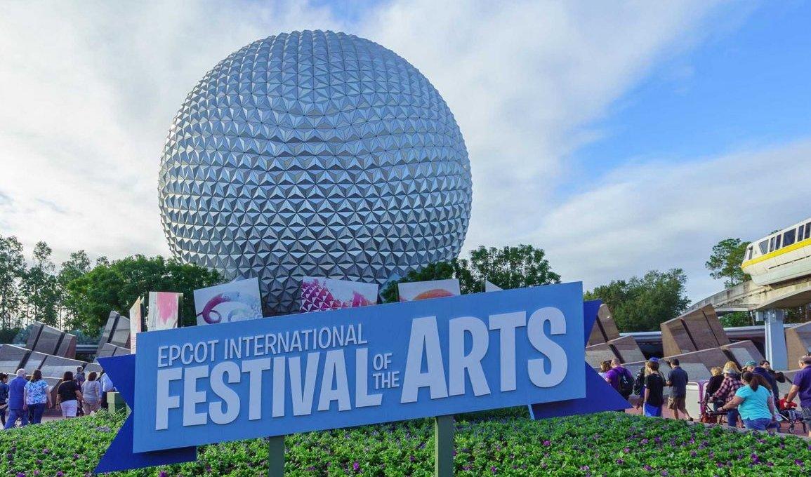 Epcot International Festival of the Arts na Disney Orlando