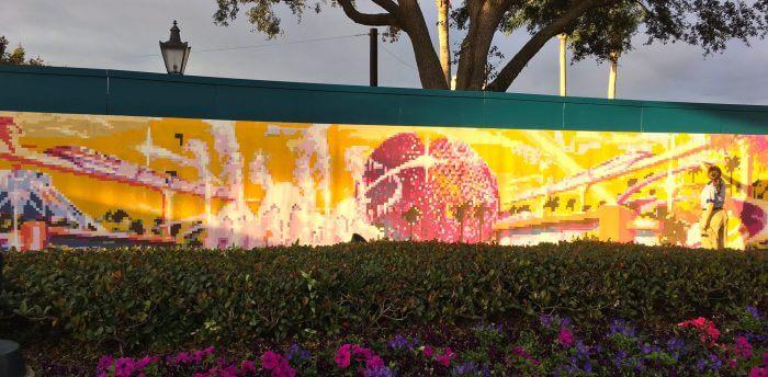 Epcot International Festival of the Arts na Disney Orlando: mural