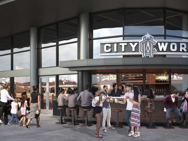 Restaurante City Works Eatery & Pour House em Disney Springs Orlando