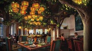 Melhores restaurantes dos hotéis da Disney em Orlando: restaurante Artist Point