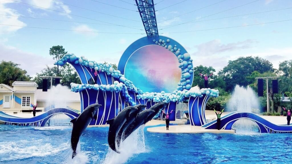 Novos preços dos ingressos do SeaWorld e Busch Gardens em 2020: Eletric Ocean no SeaWorld