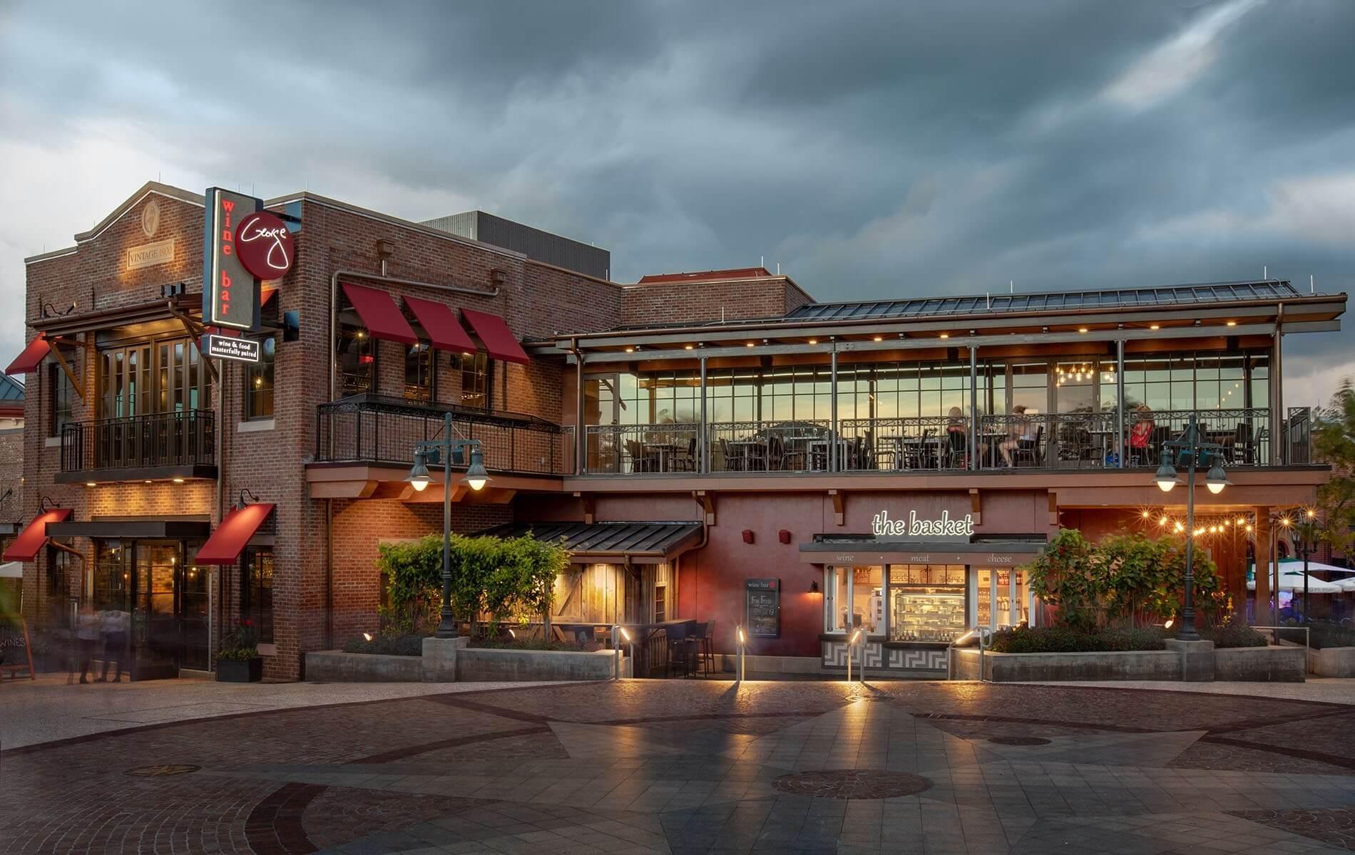 Melhores restaurantes para brunch na Disney Springs em Orlando: Wine Bar George