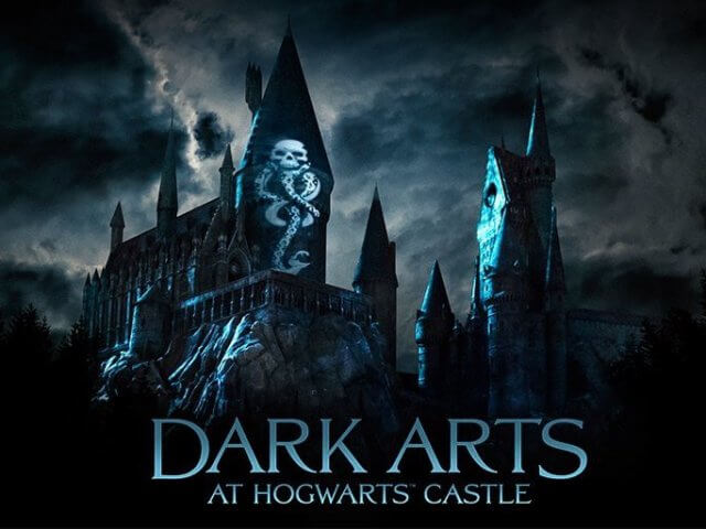 Novo show noturno do Harry Potter no Islands of Adventure em Orlando: Dark Arts