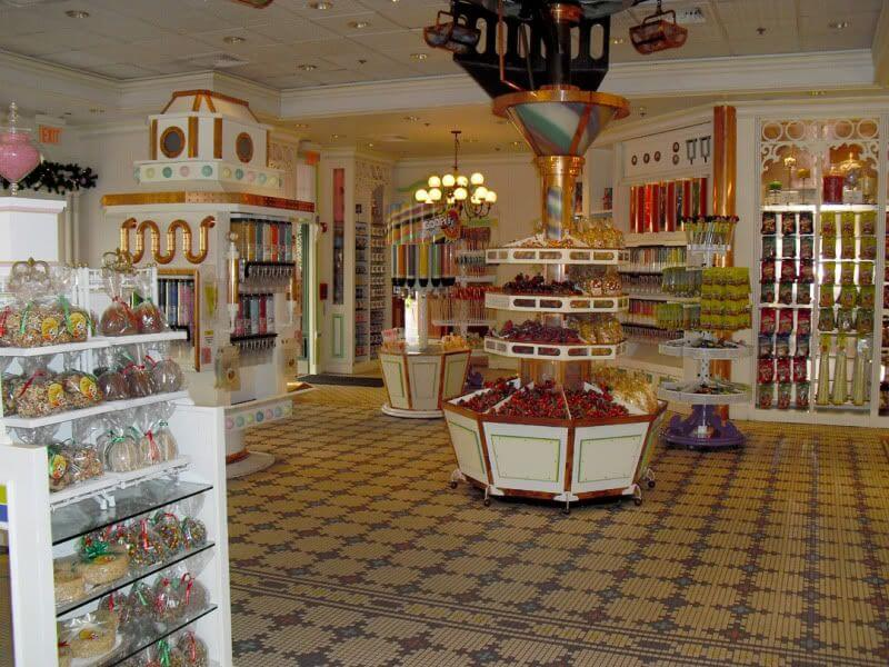 Main Street Confectionery no Magic Kingdom da Disney Orlando