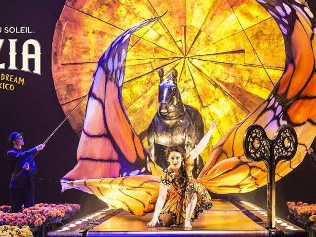 Espetáculo Luzia do Cirque du Soleil no Florida Mall em Orlando