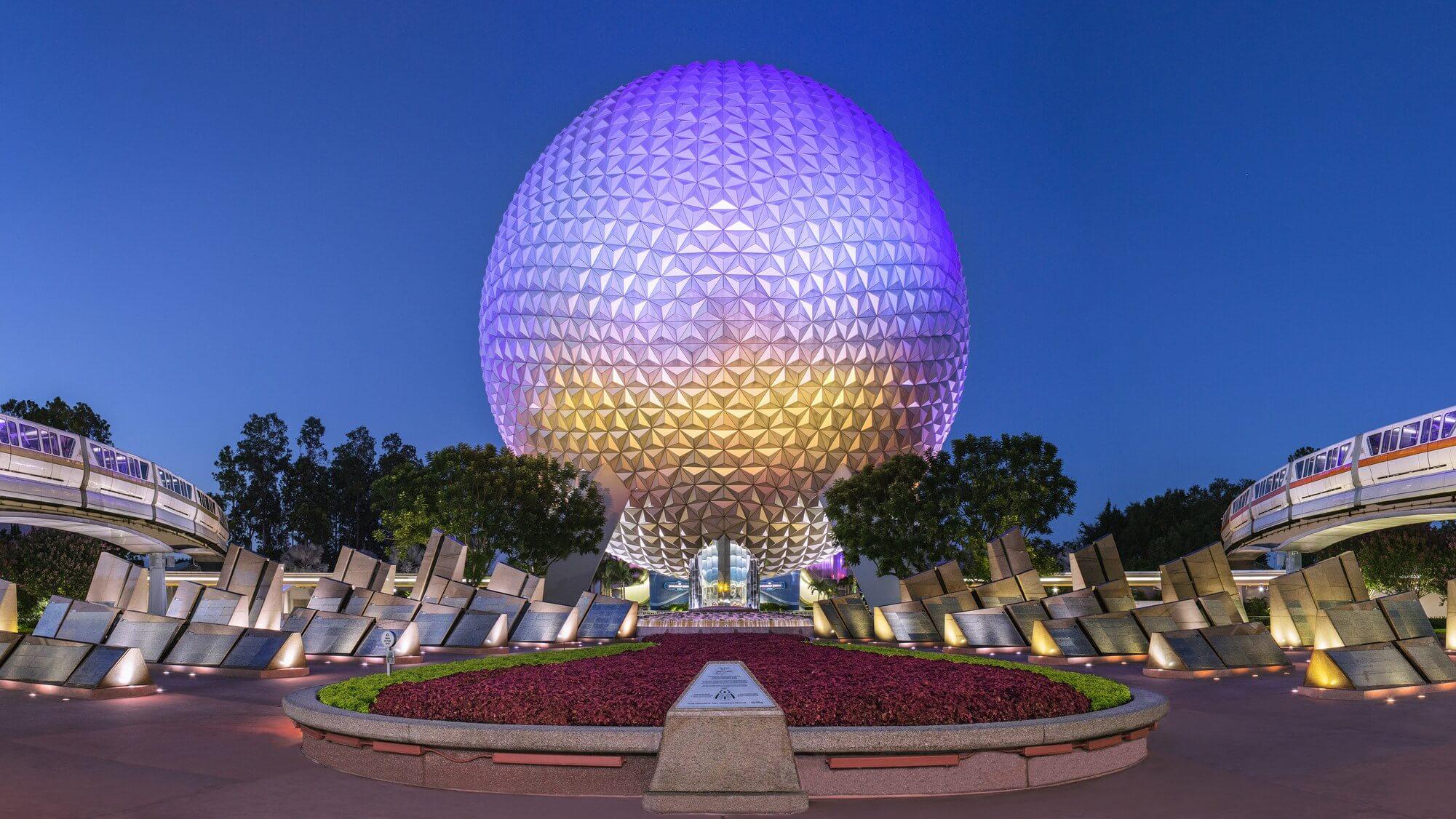 Aplicativo Disney Genie: parque Epcot