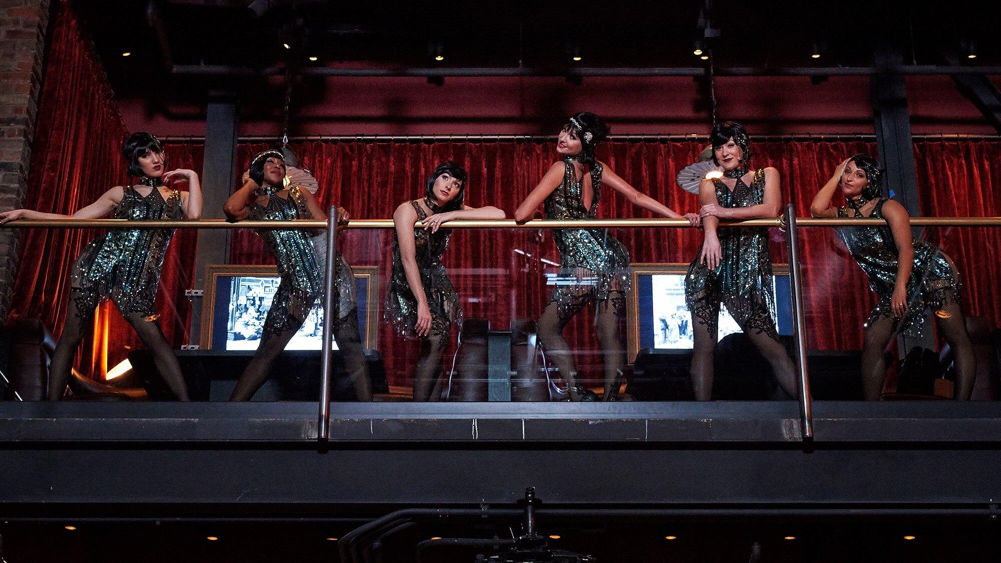 Restaurante The Edison na Disney Springs em Orlando: show