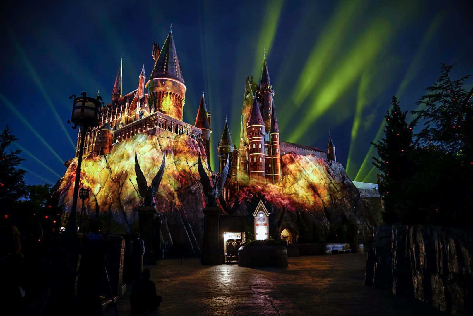 Castelo de Hogwarts no parque Islands of Adventure em Orlando