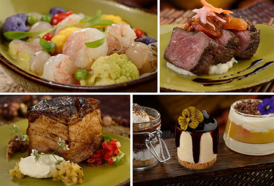 Circle of Flavors: Harambe at Night no Animal Kingdom da Disney Orlando: comida