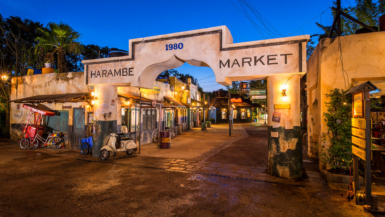 Parque Animal Kingdom da Disney Orlando: Harambe Market