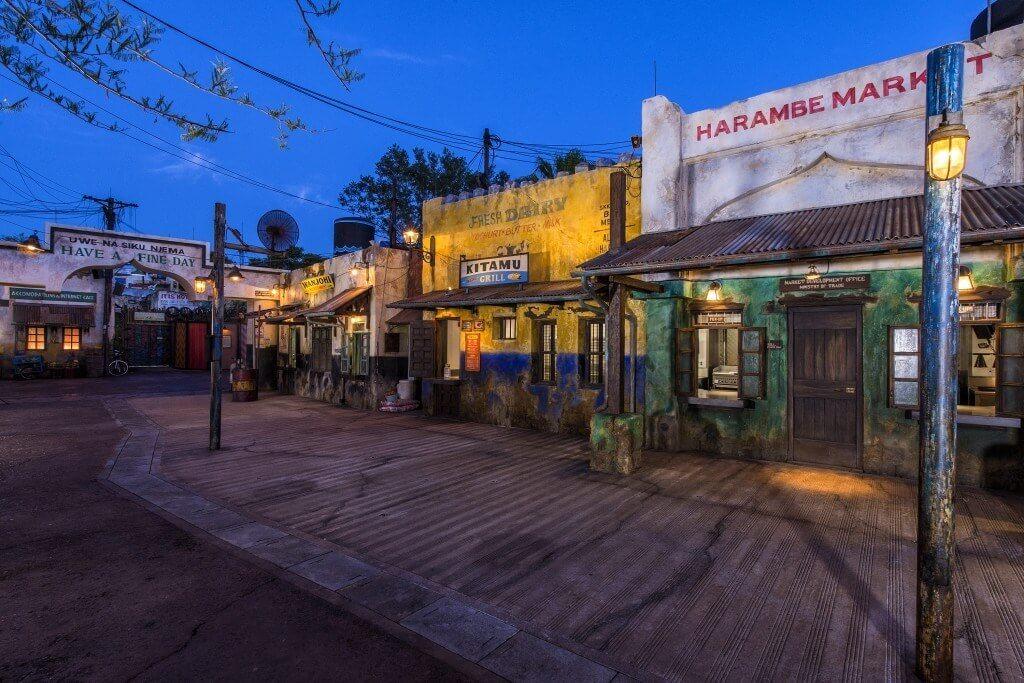 Circle of Flavors: Harambe at Night no Animal Kingdom da Disney Orlando: Harambe Market