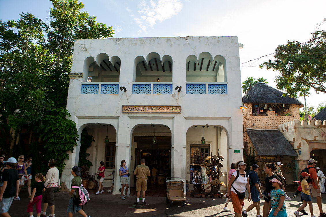 Party for the Planet no Animal Kingdom da Disney Orlando em 2019: Mombasa Marketplace