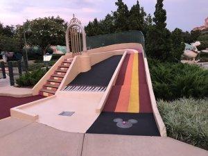 Disney's Fantasia Gardens e Fairways Miniature Golf em Orlando: campo de golfe