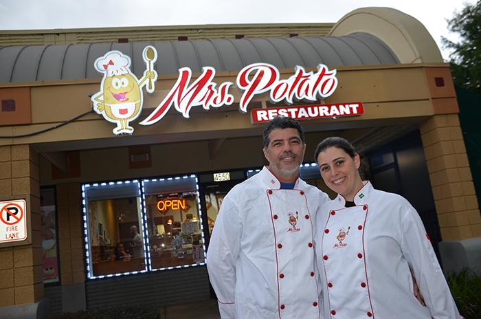Restaurante Mrs. Potato em Orlando: chefs