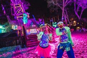 H2O Glow Nights no Typhoon Lagoon em Orlando em 2020: festa