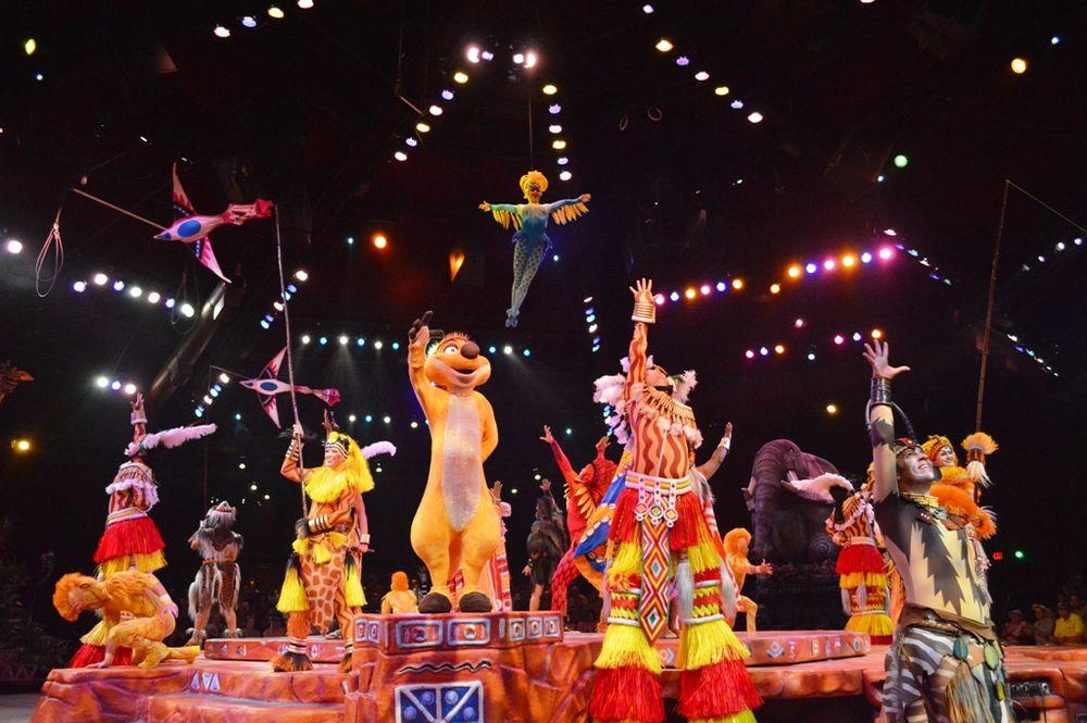 Festival of the Lion King no parque Animal Kingdom da Disney Orlando