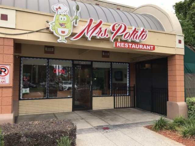 Restaurante Mrs. Potato em Orlando