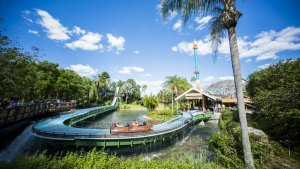 Como evitar filas nas principais atrações do Busch Gardens Tampa: Stanley Falls Flume