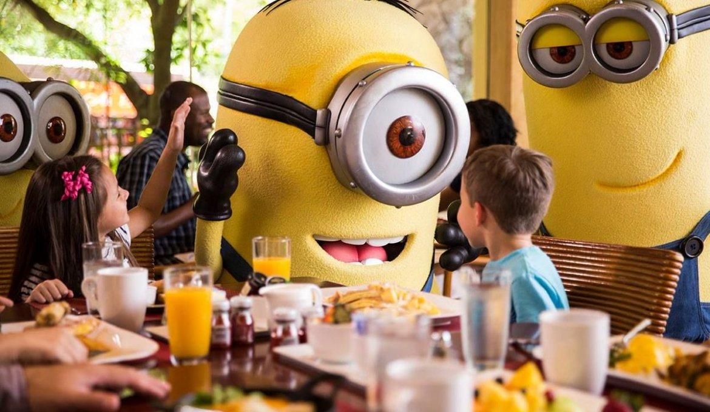 Café da manhã com os Minions na Universal Orlando