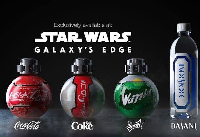 Garrafas de Star Wars na Disney Orlando