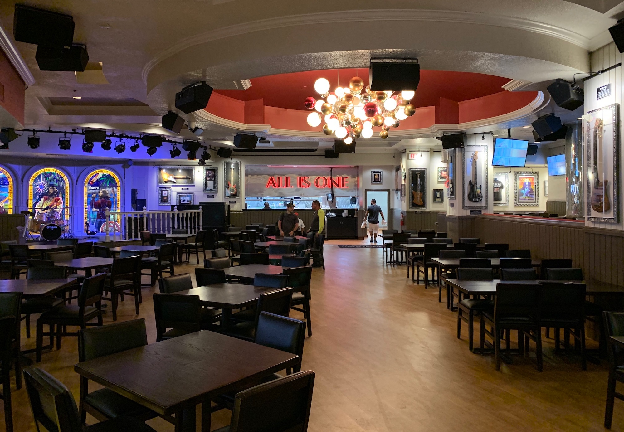 Restaurante Hard Rock Cafe em Miami