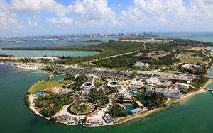Aquário Miami Seaquarium: localização