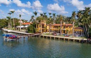 Passeio de barco em Miami: Millionaire's Row