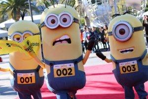 Corrida com personagens na Universal Orlando: Minions