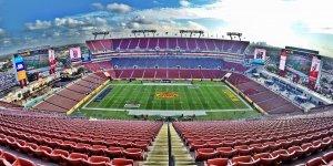 Assistir a um jogo da NFL em Tampa/Orlando: Raymond James Stadium