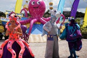 Halloween do SeaWorld Orlando: personagens