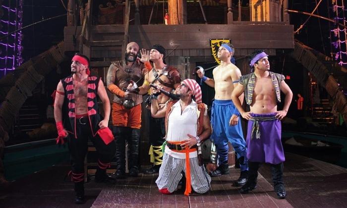 Jantar e show Pirate's Dinner Adventure em Orlando: piratas