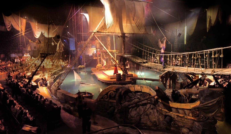 Jantar e show Pirate's Dinner Adventure em Orlando