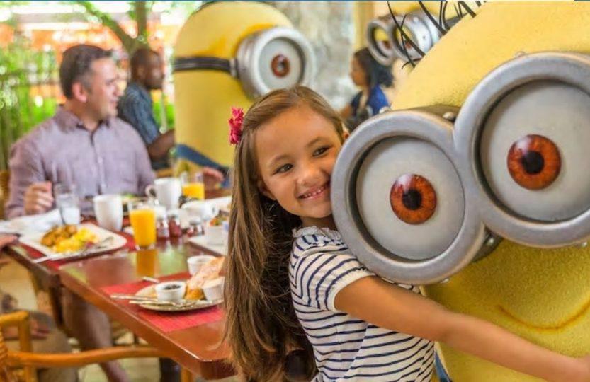 Café da manhã com os Minions na Universal Orlando: informações
