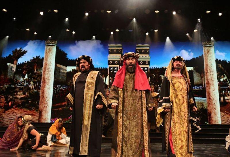 Natal no Holy Land Experience em Orlando: apresentação musical