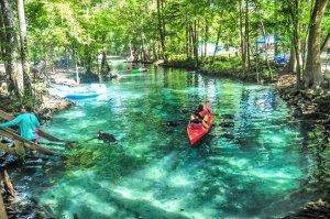 Ginnie Springs próximo a Orlando: atividades