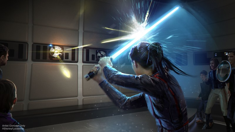 Hotel Star Wars: Galactic Starcruiser na Disney Orlando: atividades