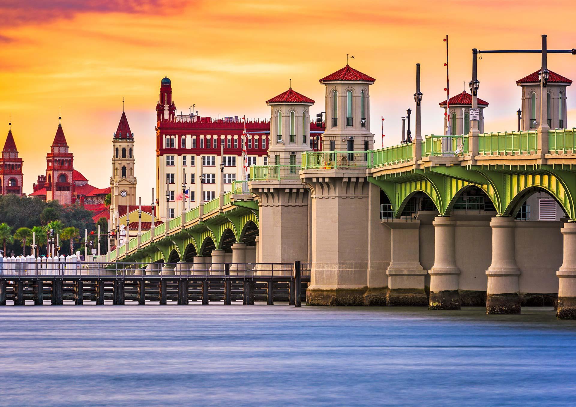 Construções históricas em Saint Augustine