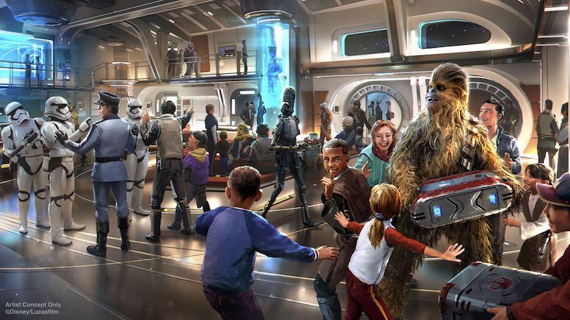 Hotel Star Wars: Galactic Starcruiser na Disney Orlando: diversão