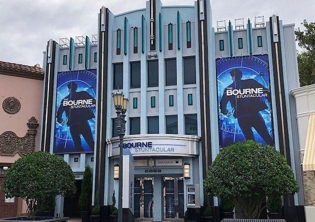 Show de dublês The Bourne Stuntacular na Universal Orlando