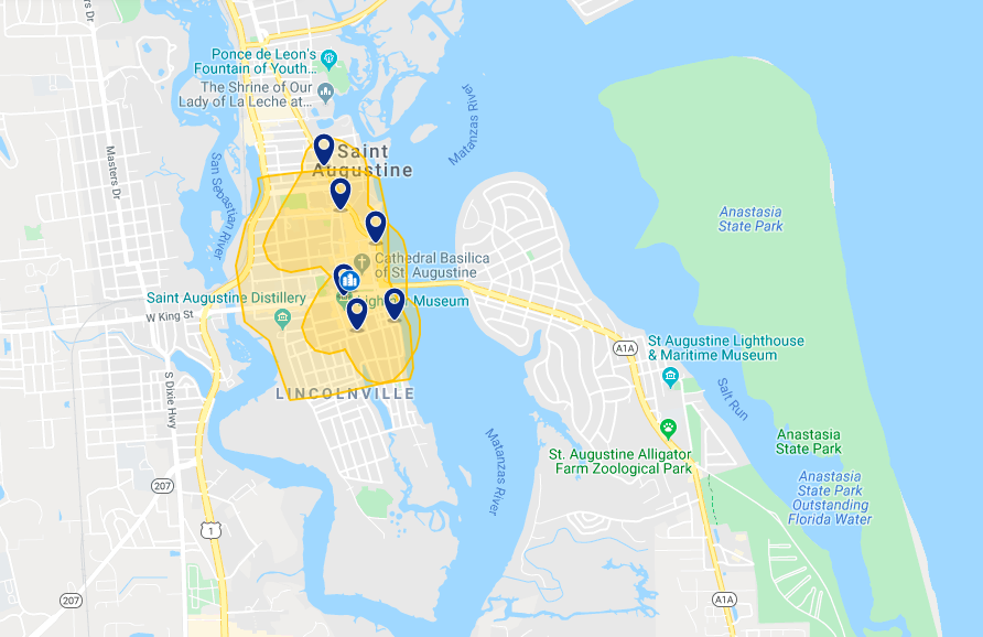 Onde ficar em Saint Augustine: melhores hotéis