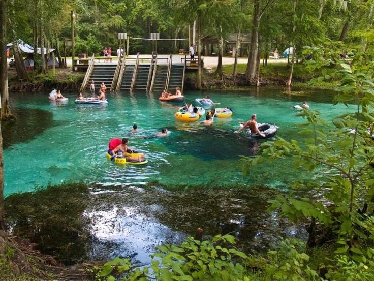 Ginnie Springs próximo a Orlando: parque