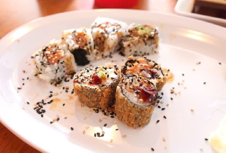 Restaurantes japoneses em Orlando: restaurante Hand Roll Sushi
