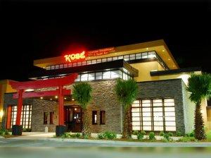 Restaurantes japoneses em Orlando: restaurante Kobe Japanese Steakhouse